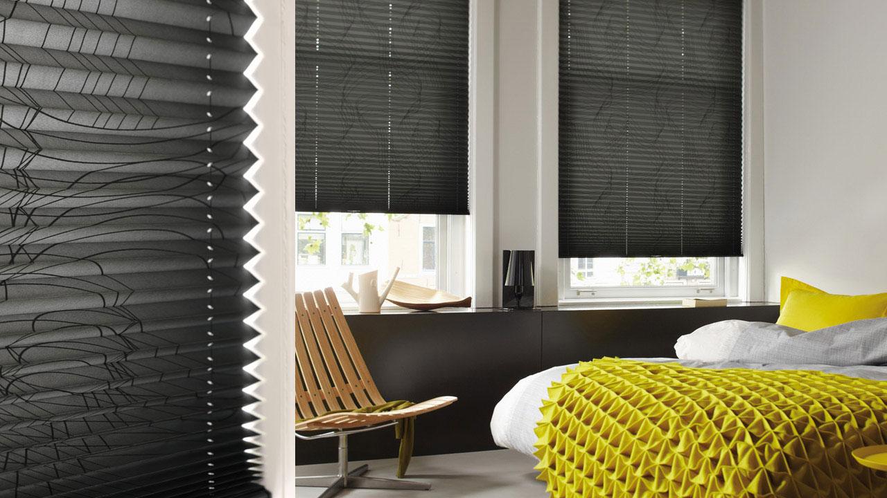 plisse duette stores nuttli bodenbel ge ag. Black Bedroom Furniture Sets. Home Design Ideas